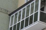 Переваги алюмінієвого скління балкона