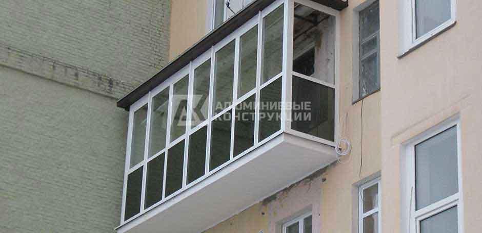Остекление балкона г. Киев 2011