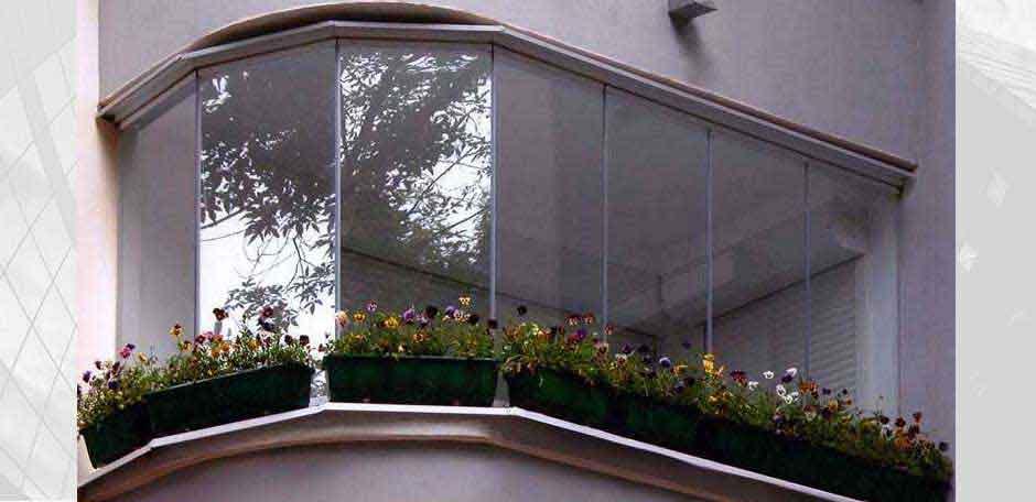 Остекление балкона г. Киев 2012