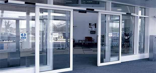 Автоматические двери для для офиса