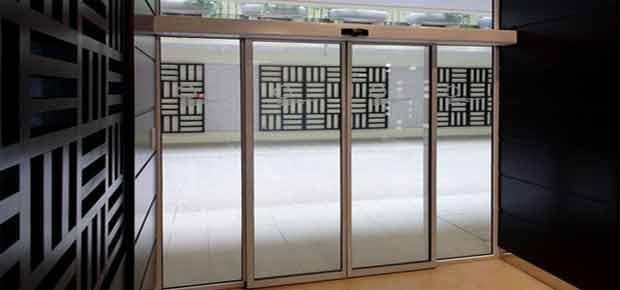 Раздвижные автоматические двери