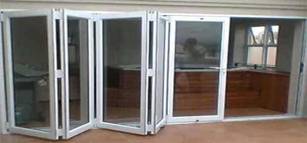 Гармошка двери для дома