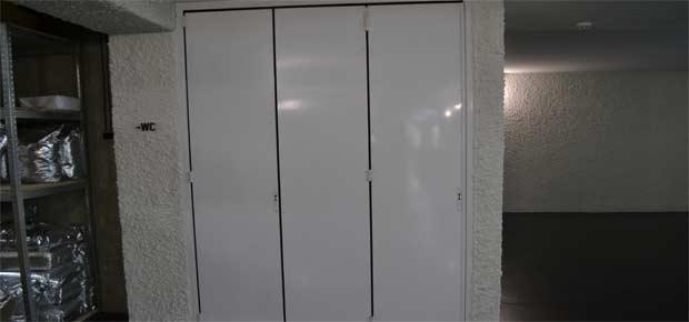 Гармошка двери для ресторана
