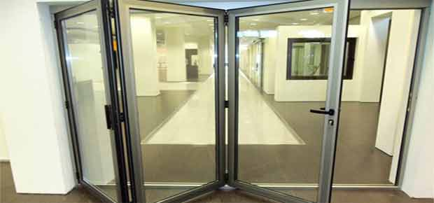 Гармошка двери для офиса