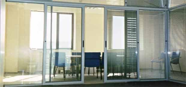 Раздвижные двери для офиса