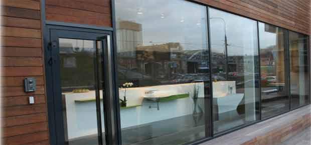 Панорамные окна для магазина