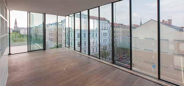Панорамные окна для офиса