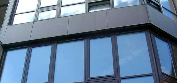 Поворотно-відкидні вікна для офісу